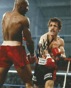 Vito Antuofermo autographed 8x10 photo vs Marvin Hagler   Middle Weight Champion