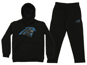 Outerstuff NFL Youth Carolina Panthers Team Fleece Hoodie and Pant Set