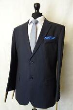 Men's New Alexandre Savile Row Navy Regular Fit Suit 40S W34 L29 AA2966