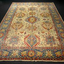 Antiker Orient Teppich 302 x 220 cm Beige Alter Perserteppich Antique Old Carpet