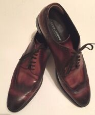 Dolce & Gabbana Italian Brown Leather Two Toned Wingtips Brogues Size 11. Nice!