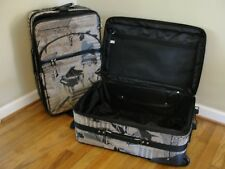 """24""""  Expandable Rolling Luggage Suit Case- Music Tapestry"""