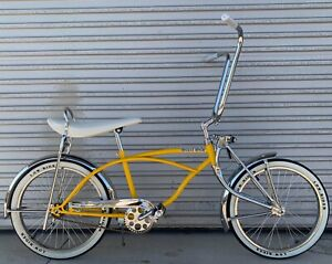"Dragster Lowrider Bicycle Bike Beach Cruiser 20"" Kit Gloss Mustard Yellow"