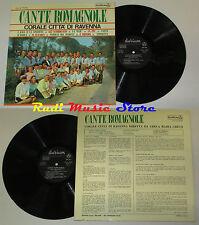 LP CORALE CITTA' DI RAVENNA Cante romagnole LAMINATED italy DURIUM MS A 77176 cd