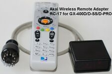 Wireless Remote RC-17 for AKAI GX-400D/D-SS/D-PRO GX-630D/DB/D-SS