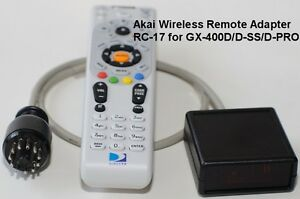 Sans Fil à Distance RC-17 Pour Akai GX-400D / D-Ss / D-Pro GX-630D / DB GXC-750D