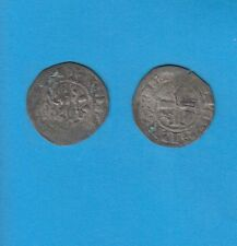 PHILIPPE IV Le Bel (1285-1314) Double Tournois billon Lot K PORT GRATUIT FRANCE