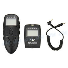 JJC Wireless Timer Remote with Cable For SIGMA SD-14 SD-15 Camera as SIGMA CR-21