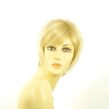 Perruque femme courte blond doré méché blond très clair  FANNY 24BT613