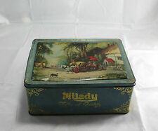 Vintage Tin Box Country Life in England Milady Toffee Waller & Hartley Ltd