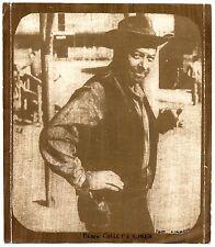 """Photo Henry Calbabian - """" Un Colt, une Corde """" - Gomme bichromatée 1969 -"""