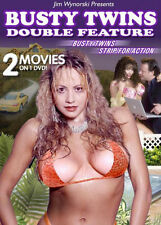 BUSTY TWINS/ STRIP FOR ACTION - DVD - Region Free - Sealed