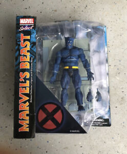 "Marvel Select Beast 7"" Action Figure X-Men Deluxe by Diamond Select"