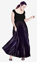 NWT CITY CHIC Passion Ombre Gown Maxi Dress - size 20 - size L - RRP $199.95
