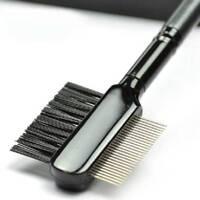 Extension Metal Comb Brush for Lash  Eyebrow Cosmetic Makeup Tool Eyelash b