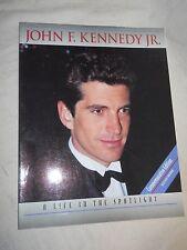 John F. Kennedy Jr. - A Life In The Spotlight  by Michael Druit (1996, PB, Illus