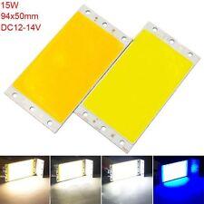94X50MM DC12-24V LED Panel Light 9450 COB Chip Strip Lamp Warm/Cool White