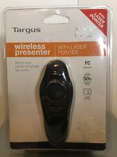 Targus Wireless Presenter with Laser Pointer AMP16US #4071