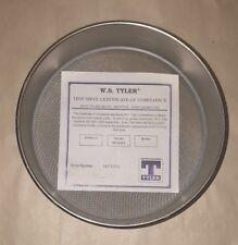 "#120 US Standard Test Sieve, 8"" Round, 8""-FH-SS-SS-US120, Mesh Screen, Lab"