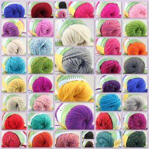 Sale New lot of 1 Balls X 50g Soft Warm Chunky Thick Wool Hand Knitting Yarn