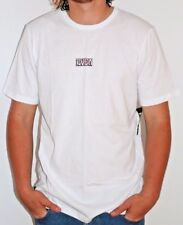 Men's RVCA Shakes White Surf Shirt / Tee. Size L. NWT, RRP $49.99.