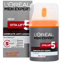 L'Oreal Men Expert Vita Lift 5 Daily Moisturiser Anti-Ageing 50ml Face Cream