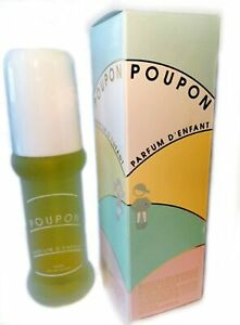 Poupon Baby Cologne Parfum D'enfant,eau De Senteur Spray 50ml / 1.7 Fl.oz