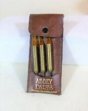 Abbey Darts, Steel Tip, 18 grams Made in England Brass Shaft with Soft case