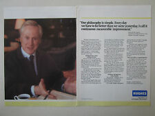 4/1990 PUB HUGHES AIRCRAFT GM ELECTRONICS MALCOLM R CURRIE ORIGINAL AD