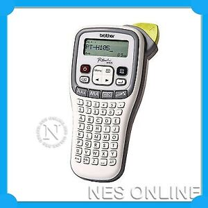 Brother P-Touch PT-H105 Hand Held Labeller 3.5mm-12mm TZE - TAPE Included *NEW*