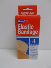 """1X Coralite Elastic Bandage 4"""" Wide 3 Yard Stretch Sealed!  B2G1F!"""