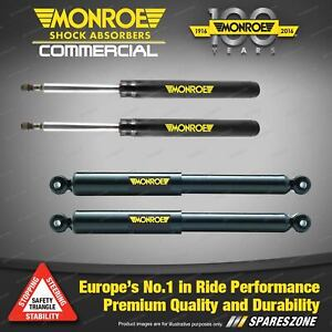 Monroe Front + Rear Reflex Shock Absorbers for Saab 900 Sedan Coupe 94-96