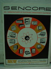 """Sencore""   a  Manufacturer of Vintage electronic maintrnance equipment"