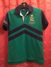 Vintage 10Y 12Y RALPH LAUREN Polo RACING STABLES BEDFORD HILLS JOCKEY CLUB Shirt