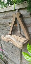 Bird Table Handmade Real Oak
