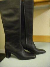 Worthington Black Leather Knee High Boot 8 M