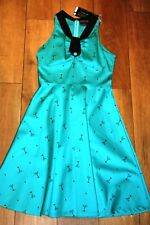 NEW&TAGS VOODOO VIXEN dress SIZE M 10 rockabilly vintage wedding 50s party prom