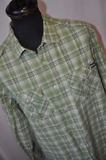 Lee Cooper green check western shirt size XL casual mod