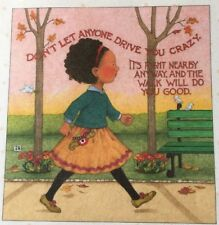 Mary Engelbreit Handmade Magnet-Don't Let Anyone Drive You Crazy