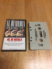 Al Di Meola Tour De Force LIVE Jazz Fusion Guitar cassette tape 1982 EX