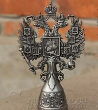 Russia Antique Decorative Vintage Tin Dicephalous Double-headed Bottle Opener