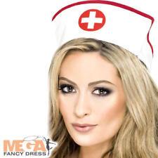 Nurses Uniform Hat Ladies Surgery Emergency Services Fancy Dress ER Costume Hat