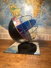 A VINTAGE WORLD TERRESTRIAL GLOBE CUT AWAY & BLACK CHALKBOARD CIRCA 1965