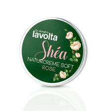 (17€/100ml) LaVolta Shéa Naturcreme Soft ROSE 150ml - mit nat. Rosenblütenöl S.P