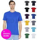 American Apparel Mens TShirt Casual Unisex Fine Jersey Holiday T Shirt AA001