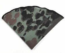 Pocket Round Camouflage Roberto Cavalli Fabric  Black Border By Squaretrapny.com