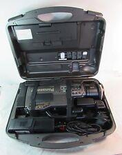 Cámara Panasonic NV-MS4 Svhs Con Efectos Digitales Stereo Hi-Fi y funda de transporte