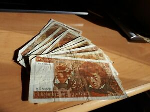 Lot de 13 billets de 10 Francs BERLIOZ 1974 à 1976