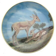 Slender Horned Gazelle Plate Last Of Their Kind Will Nelson  CPO172