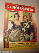 RADIOCORRIERE TV 1964/42=VALENTINA CORTESE GIANCARLO SBRAGIA=I CAMALEONTI=